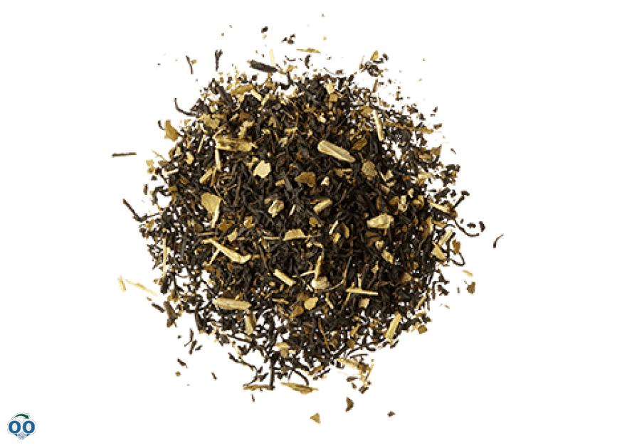 Thé stimulant au chocolat, en feuilles