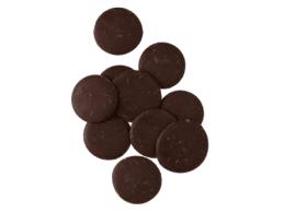 Pastilles de chocolat noir belge