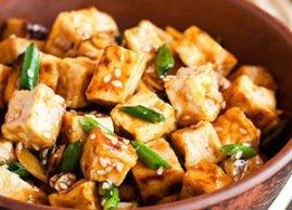 Du tofu au menu !