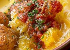 Remplacez les pâtes par la courge spaghetti