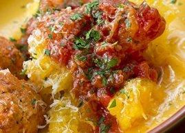 Replace pasta with spaghetti squash